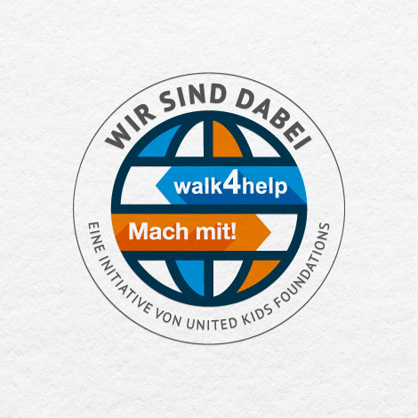 We support the walk4help.